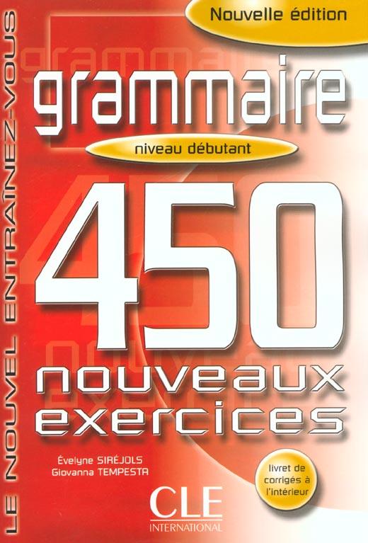 450 NOUVEAUX EXERC NIV DEBUTAN