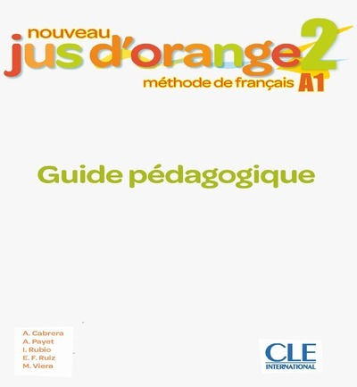 JUS D'ORANGE NIV.2 PROFESSEUR + CD 2E ED.