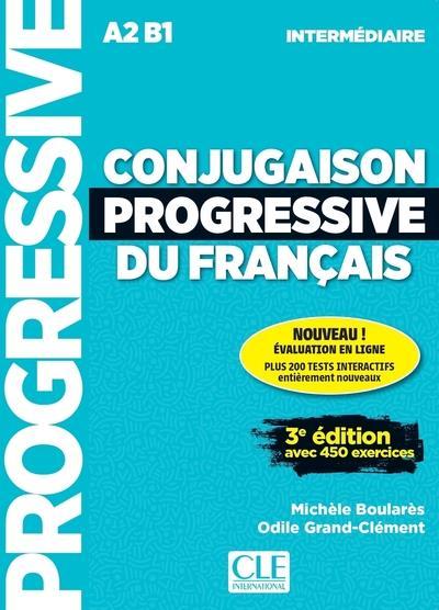 Conjugaison progressive du francais - intermediaire - 3eme edition - application + cd