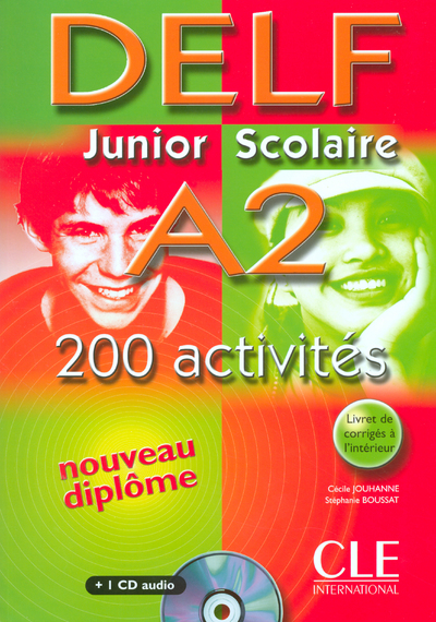 NOUV DELF SCOLAIRE A2+CD AUDIO