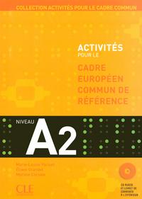 CADRE EUROPEEN A2 ELEVE+CD