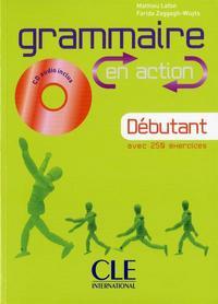 GRAMMAIRE EN ACTION A1+LIV+CD