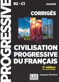 CIVILISATION PROGRESSIVE FLE CORRIGES NIVEAU AVANCE 2E EDTION