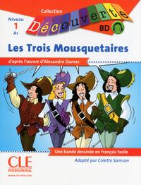 LIVRET DE BANDE DESSINEE LES TROIS MOUSQUETAIRES 1 - DECOUVERTE