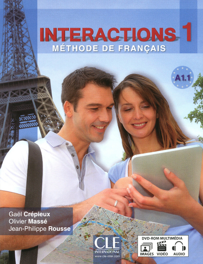 INTERACTION ELEVE A1.1 + DVD