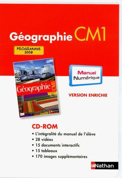 DVD ROM - MANUEL NUMERIQUE ENRICHI CM1 - ADOPTANT - HIST GEO