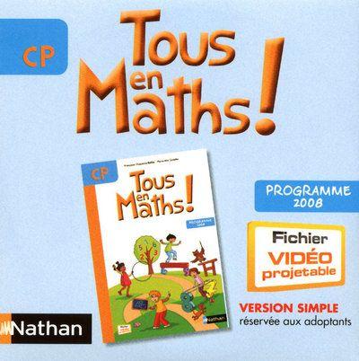 TOUT EN MATHS CP  CD ROM MANUEL NUMERIQUE SIMPLE