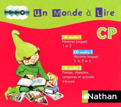 MONDE A LIRE CP - 3 CD AUDIO