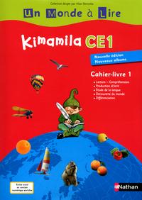 UN MONDE A LIRE - KIMAMILA CE1 - SERIE ROUGE - CAHIER LIVRE 1