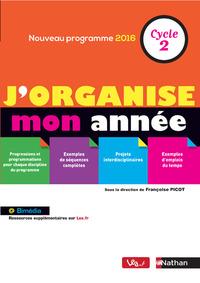 J'ORGANISE MON ANNEE - CYCLE 2