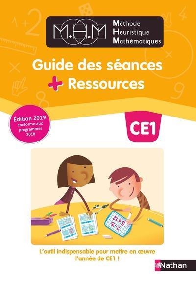 Methode heuristique de maths pinel - guide pedagogique ce1 2019
