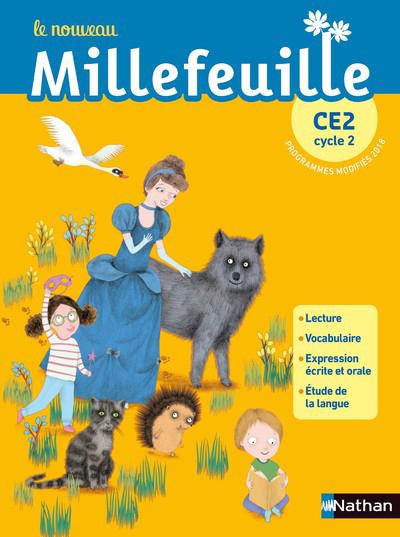 NOUVEAU MILLEFEUILLE CE2 MANUEL 2019