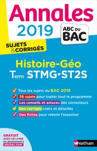 ANNALES BAC 2019 HISTOIRE/GEO STMG - ST2S SUJETS ET CORRIGES