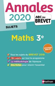 SUJB000018 ANNALES BREVET  2020  MATHS  NON CORRIGE