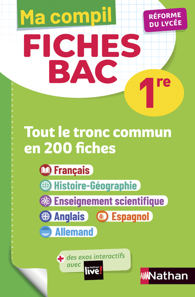 MA COMPIL FICHES BAC 1RE