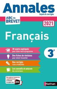ANNALES BREVET 2021 FRANCAIS - CORRIGE