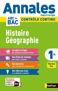 ANNALES ABC DU BAC 2021 - HISTOIRE-GEOGRAPHIE 1RE - CORRIGE - VOL09