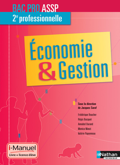 ECONOMIE/GESTION 2E BPRO ASSP