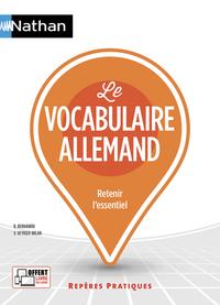 LE VOCABULAIRE ALLEMAND - REPERES PRATIQUES N62 - 2018