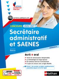 CONCOURS SECRETAIRE ADMINISTRATIF ET SAENES 2020 - 2021 - CAT B N01 (IFP) 2020