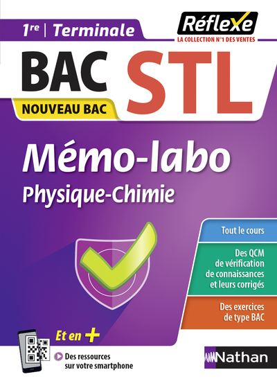 MEMO LABO PHYSIQUE CHIMIE  1ERE/TERM STL  GUIDE REFLEXE N 36  20