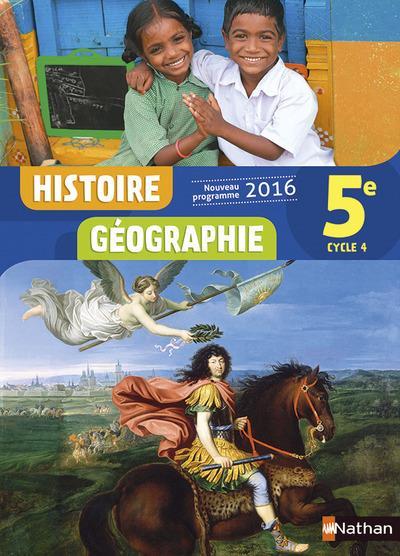 Histoire geographie 5e 2016 - manuel eleve
