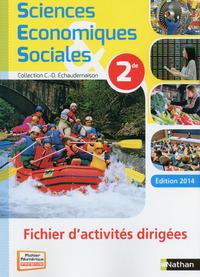 SCIENCES ECONOMIQUES & SOCIALES 2DE 2014 - FICHIER T.D. VERSION ELEVE