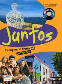 JUNTOS 2E ANNEE 2014 + DVD ELEVE