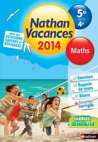 CDV 2014 MATHEMATIQUES 5E/4E