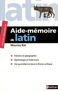 RAT AIDE MEMOIRE DE LATIN
