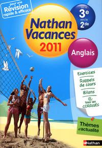 CDV 2011 ANGLAIS 3E/2E