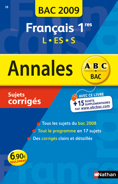ANNAL 09 ABC SUJ COR FRANC 1E
