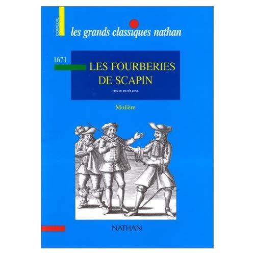 MOLIERE FOURBERIES DE SCAPIN