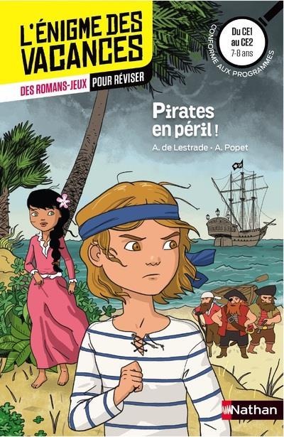 L'enigme des vacances du ce1 au ce2 - pirates en peril ! - vol33