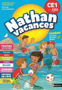 NATHAN VACANCES 2018 PRIMAIRE CE1 VERS LE CE2 7/8 ANS