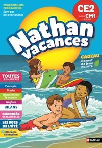 NATHAN VACANCES 2018 PRIMAIRE CE2 VERS LE CM1 8/9 ANS