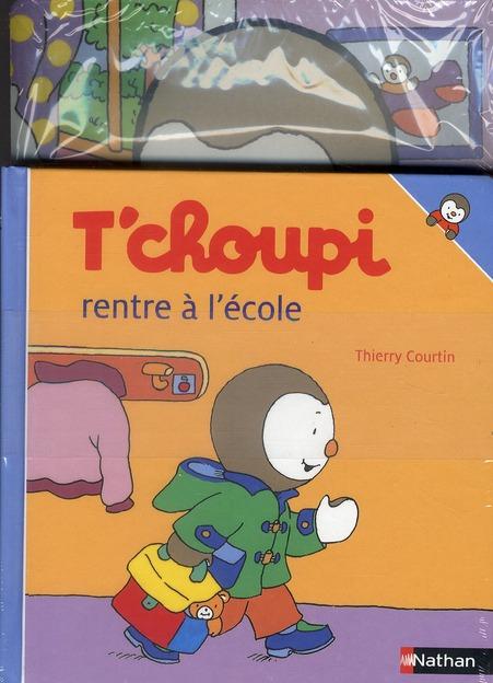 PACK T'CHOUPI RENTRE ECOLE+PAR