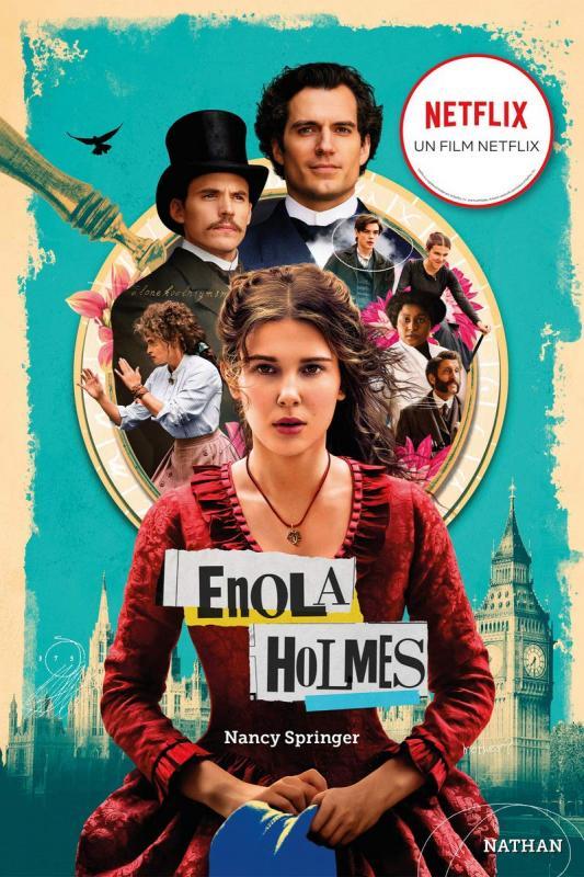 Les enquetes d'enola holmes - tome 1 la double disparition -edition film- - vol01