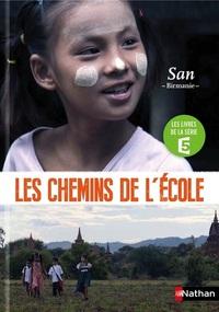SUR LES CHEMINS DE L'ECOLE - SAN, BIRMANIE