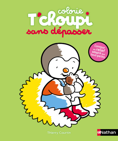 COLORIE T'CHOUPI SANS DEPASSER CHATON