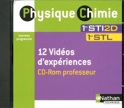 PHYSIQUE CHIMIE 1E STI2D CDROM