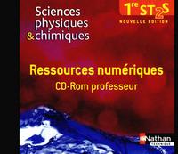 SCIENCES PHYSIQUES & CHIMIQUES - 1RE ST2S - CD-ROM RESSOURCES NUMERIQUES COFFRET PEDAGOGIQUE
