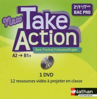 NEW TAKE ACTION BAC PRO 1 DVD 2013