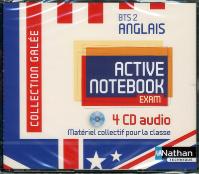ACTIVE NOTEBOOK BTS 2 ANGLAIS GALEE AUDIO