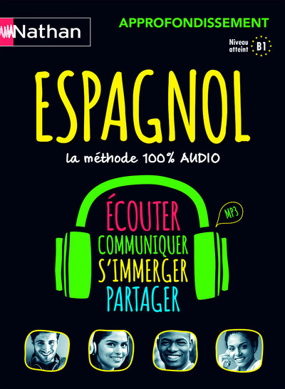 COFFRET ESPAGNOL 100% AUDIO APPROFONDISSEMENT (VOIE EXPRESS) - 2016