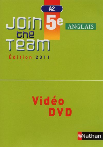 JOIN THE TEAM 5E DVD VIDEO CLASSE