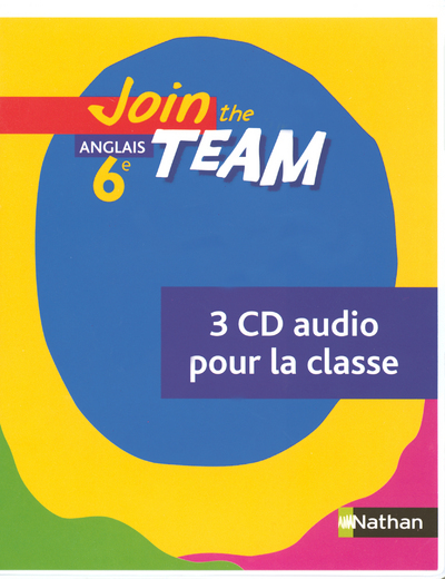 JOIN THE TEAM 6E 2006 - CD AUDIO CLASSE