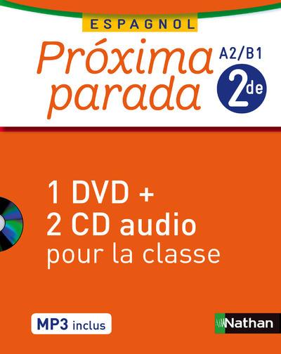 PROXIMA PARADA 2DE 2014 - COFFRET CD + DVD CLASSE