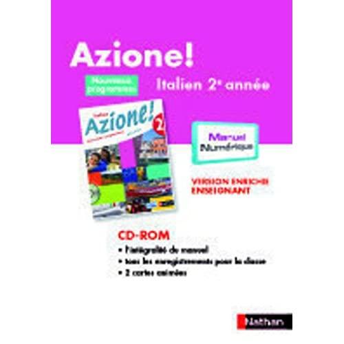 CD-ROM AZIONE NIVEAU 2 MN TNA