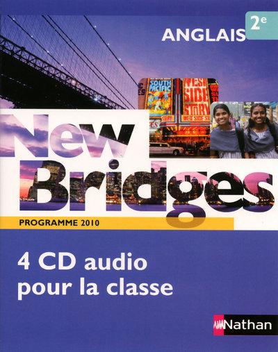 NEW BRIDGES 2EME - 2 CD AUDIO CLASSE